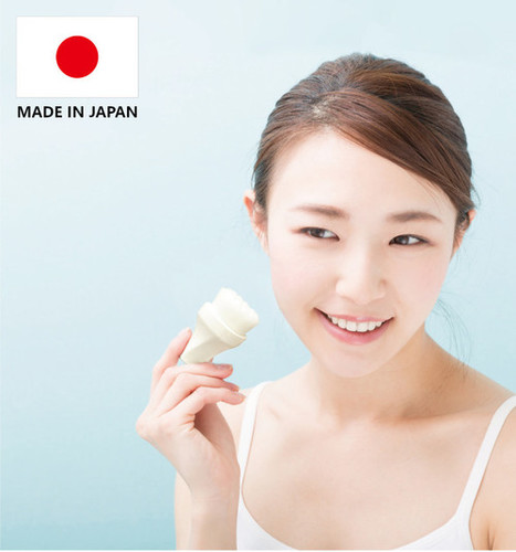 Japan Made Facial Cleansing Brush With 300k Ultra-tapered Fibers