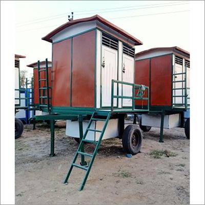 Portable Mobile Toilet Van
