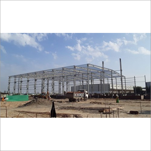 Color Coated Prefabricated Structure