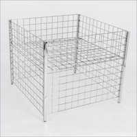 Dump Bin Grid Basket