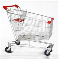 Steel Supermarket Trolley
