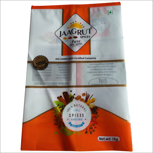 Spices Printed Pouch