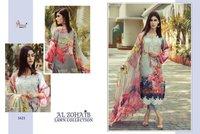 Shree Fabs Al Zohaib Cotton Print With Embroidery Pakistani Dress Catalog
