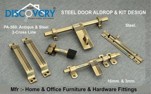 Steel & Antique Door Kit & Aldrop
