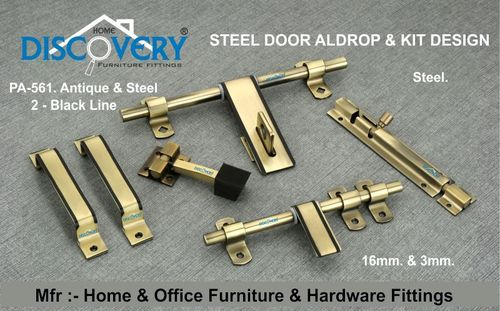 Steel & Antique Door Kit & Aldrop