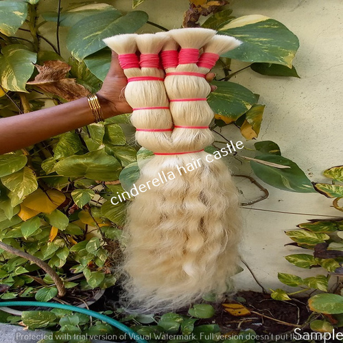 Indian Remy Blond Human Hair Extensions