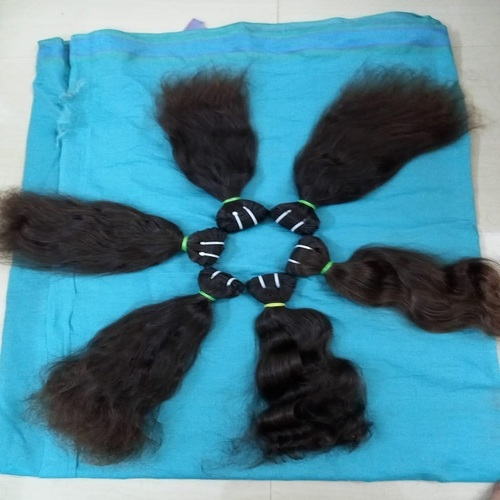 100% Unprocessed Natural Virgin Human Hair Extensions