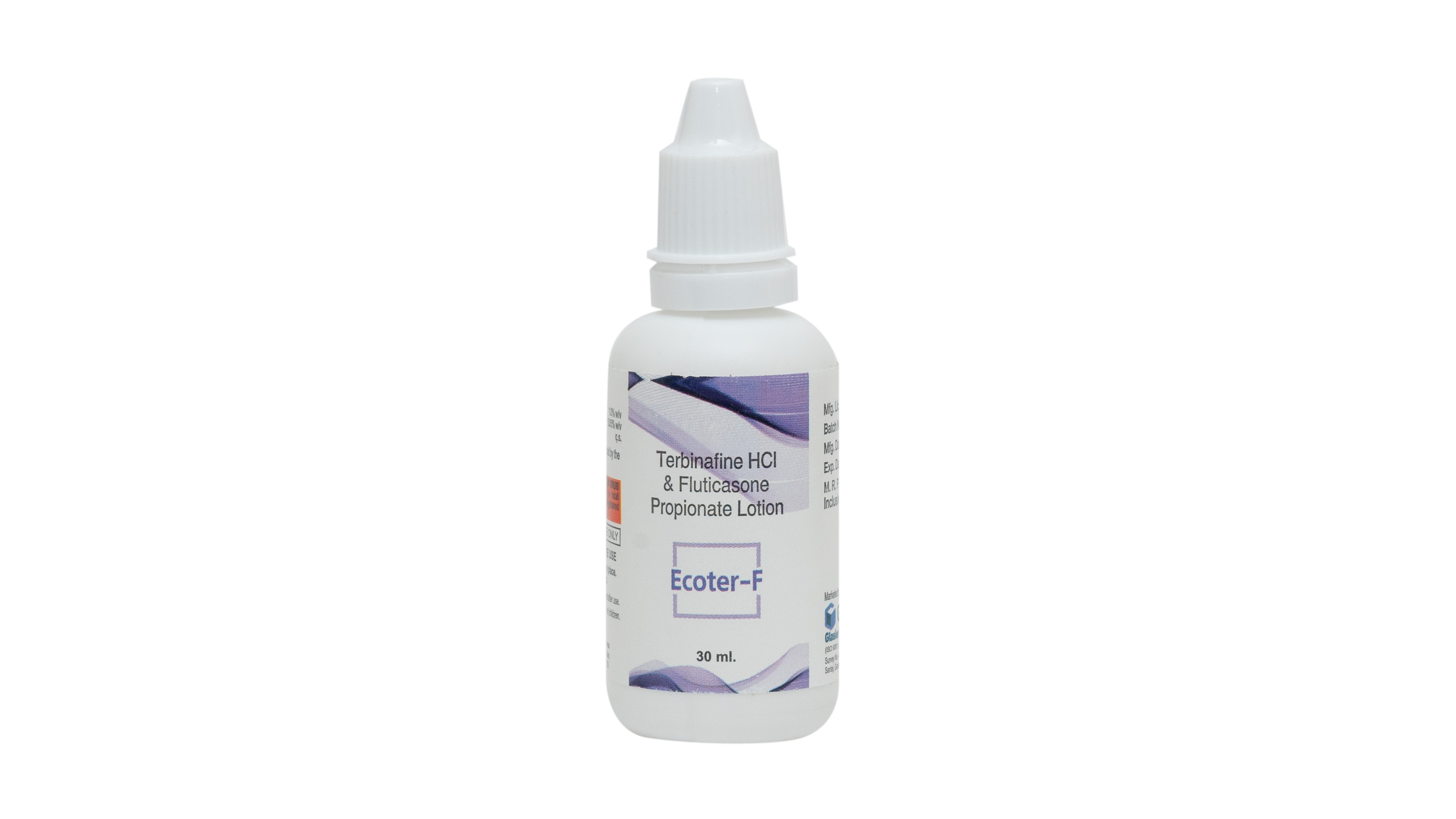 Terbinafine 1 %+ fluticasone propionate 0.05% Lotion