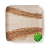 Disposable Areca Palm Leaf Plates - 9 Inch Square | 100% Natural, Export Quality, Eco Friendly, Available In Bulk