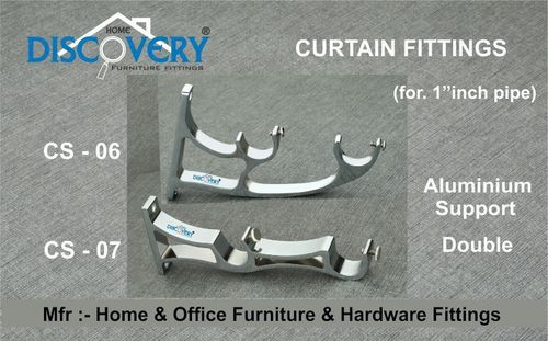 Aluminium Curtain Bracket Support