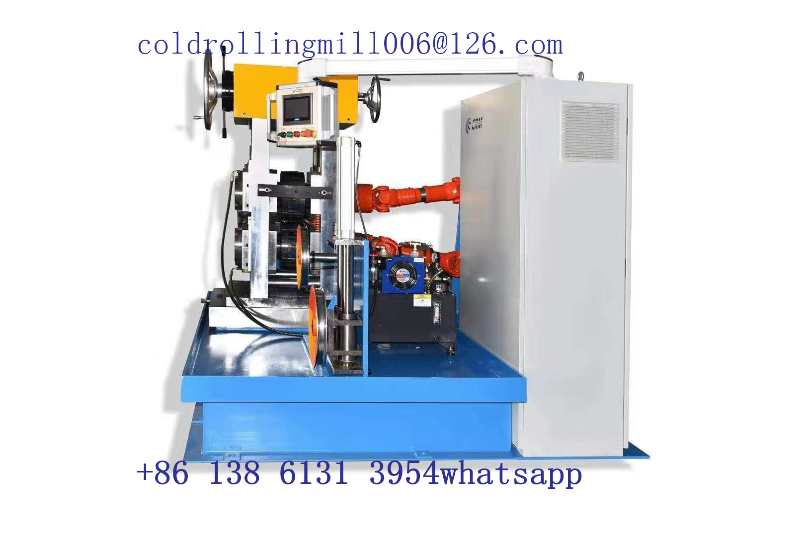 Gz300 2 Hi Cold Rolling Mill For Flat And Shaped Wires