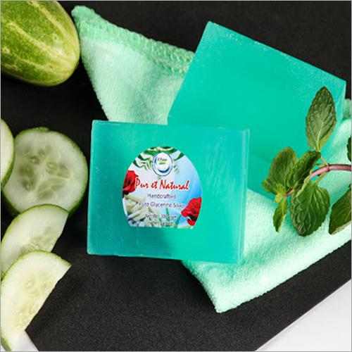 Pure Glycerine Mint Cucumber soap