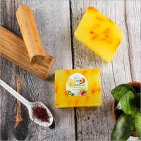 Pure Glycerine sandal saffron soap