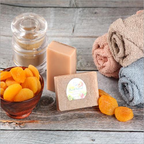 Handmade Apricot Scrub Shea Butter Soap