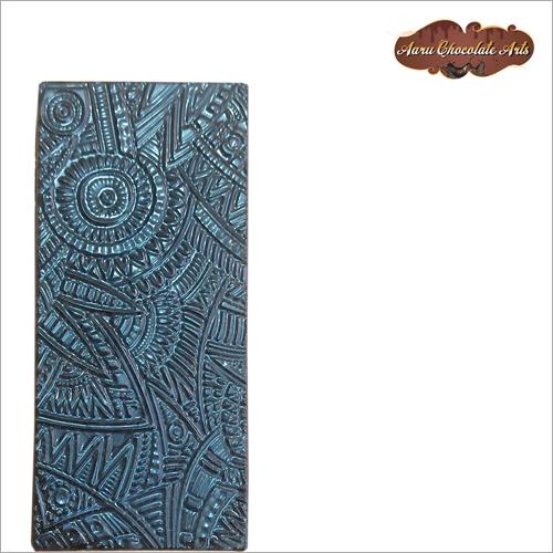 Carved Dark Chocolate Bar