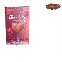 Handmade Chocolate Lollipop