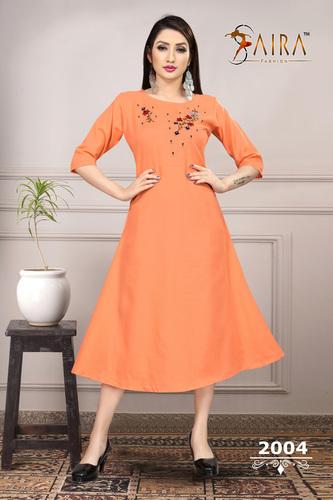 Ladies Fashionable Cotton Kurtis