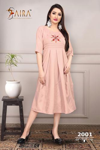 Ladies Modern Cotton Kurtis