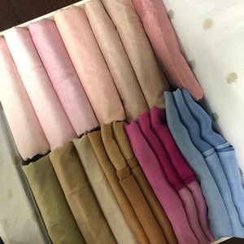 Silk Modal Plain Colors Stoles And Shawls