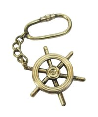 Ship Wheel Key Chain