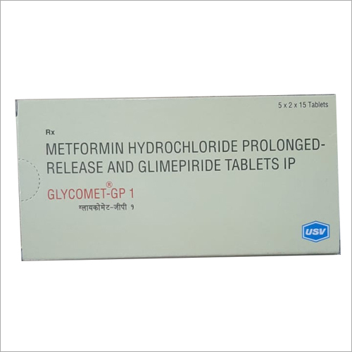 Metformin Hydrochloride Prolonged Release and Glimepiride Tablets