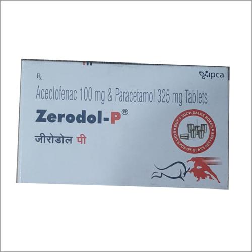 Aceclofenac 100mg and Paracetamol 325 mg Tablets
