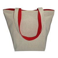 Reversible Type Bag With Outside 10 OZ Dyed Cotton & Inside 150 GSM Natural Cotton