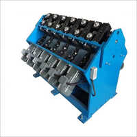 Rolling Type Small Gear Less Tube Shrinking Machine