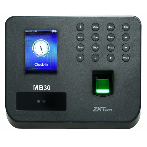 1. Mb-30 ZKTeco Face Attendance Machine