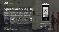 Speedface V5l (Td) Touchless Face Detection System With Body Temperature