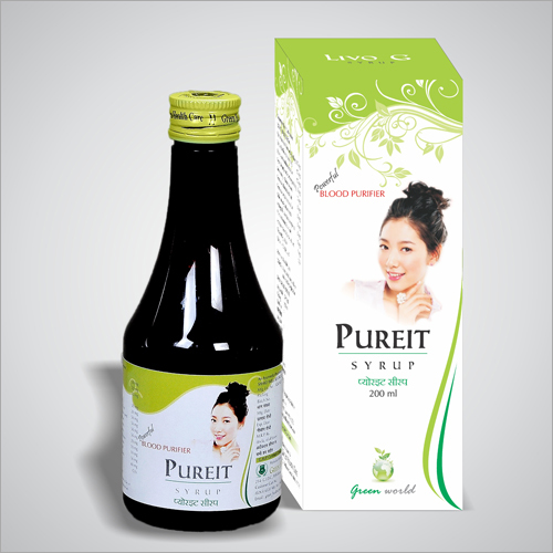 Blood Purifier Syrup and Tablet