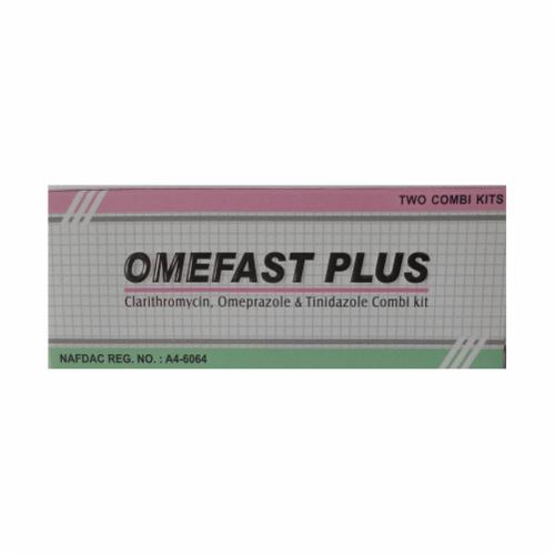 Combi Kit of Omeprazole, Clarithromycin and Tinidazole