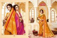 Indian Handloom Cotton Saree