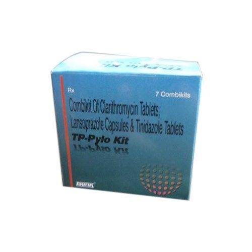 Combi Kit of Lansoprazole, Clarithromycin and Tinidazole
