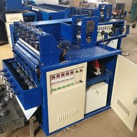 5WIRE 5BALL Flat Short Scrubber Making Machine