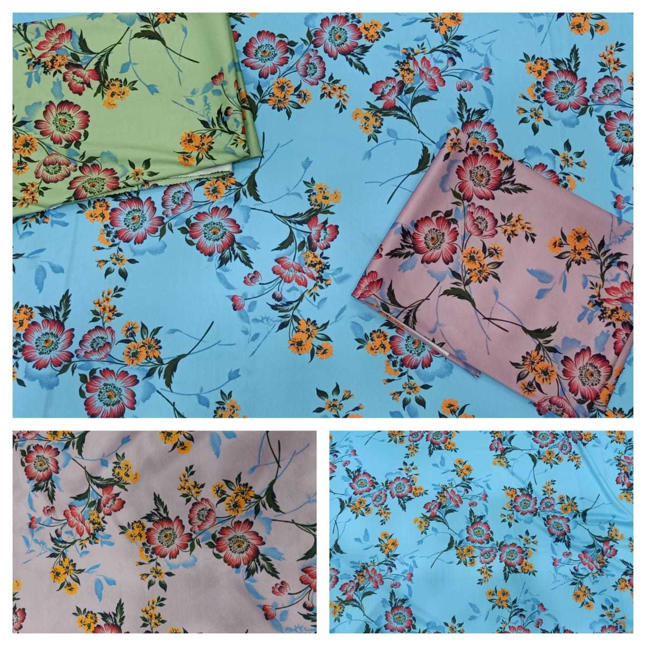 Zurich Stretchable Digital Print Lycra Fabric