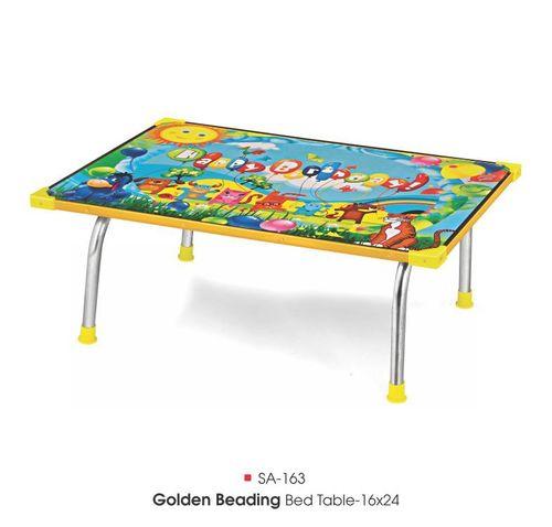 Sa-163 Golden Beading Bed Table 16x24