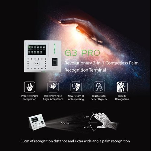 G3 Pro Revolutionary 3-in-1 Contactless Palm Recognition Terminal