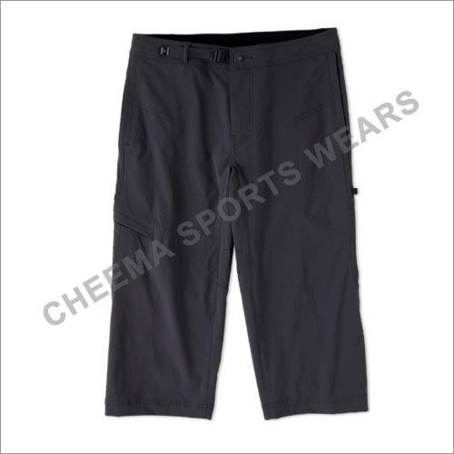 Mens Black Sports Shorts