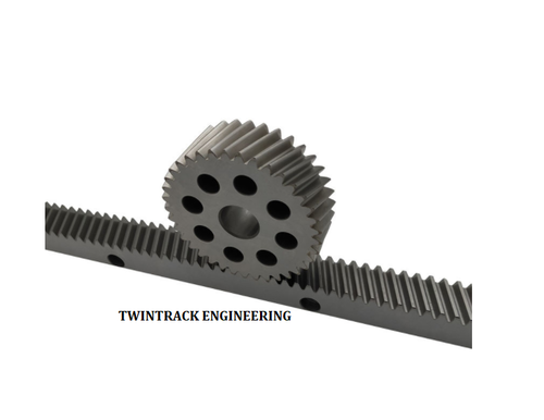 Helical Rack And Pinion Cnc