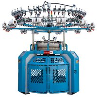 QSCD Series - Double Jersey Computerised Cylinder and Dia Jacquard Knitting Machine