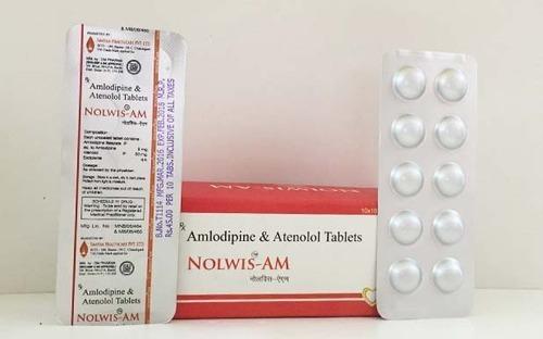 Amlodipine Besylate  and Atenolol Tablets