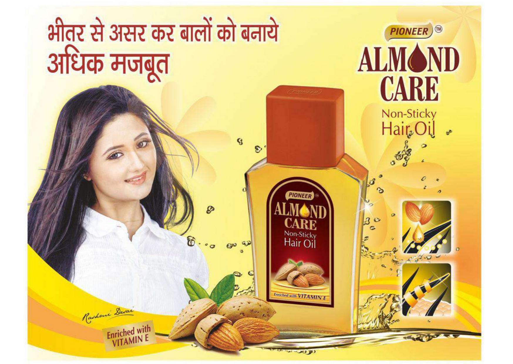50ml Pioneer Almond Care Hair Oil