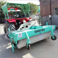 Hydraulic Road Sweeper With Bucket