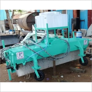 Road Sweeper With Side Brush And Water Sprinkle