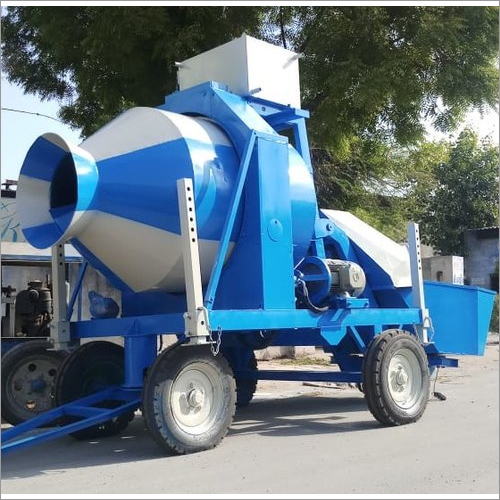 Concrete Mixture and Mobile Concrete Mixture With Bucket