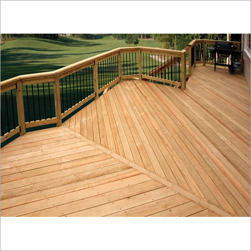 Deck With Southern Yellow Pine Plywood