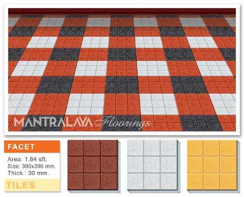 30mm Facet Parking Tiles