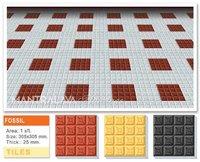 25 mm Fossil Parking Tiles
