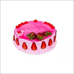 Strawberry Surprise Cakes